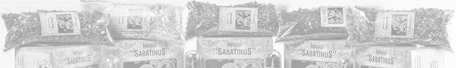 Incenso Sabatinus Olíbano