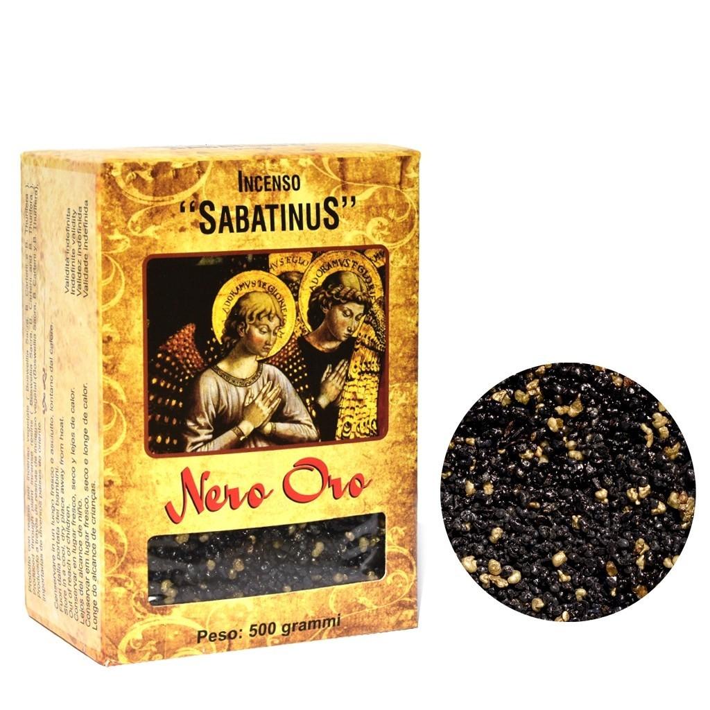Incenso Sabatinus Nero Oro 1 Unidade com 500 Gramas