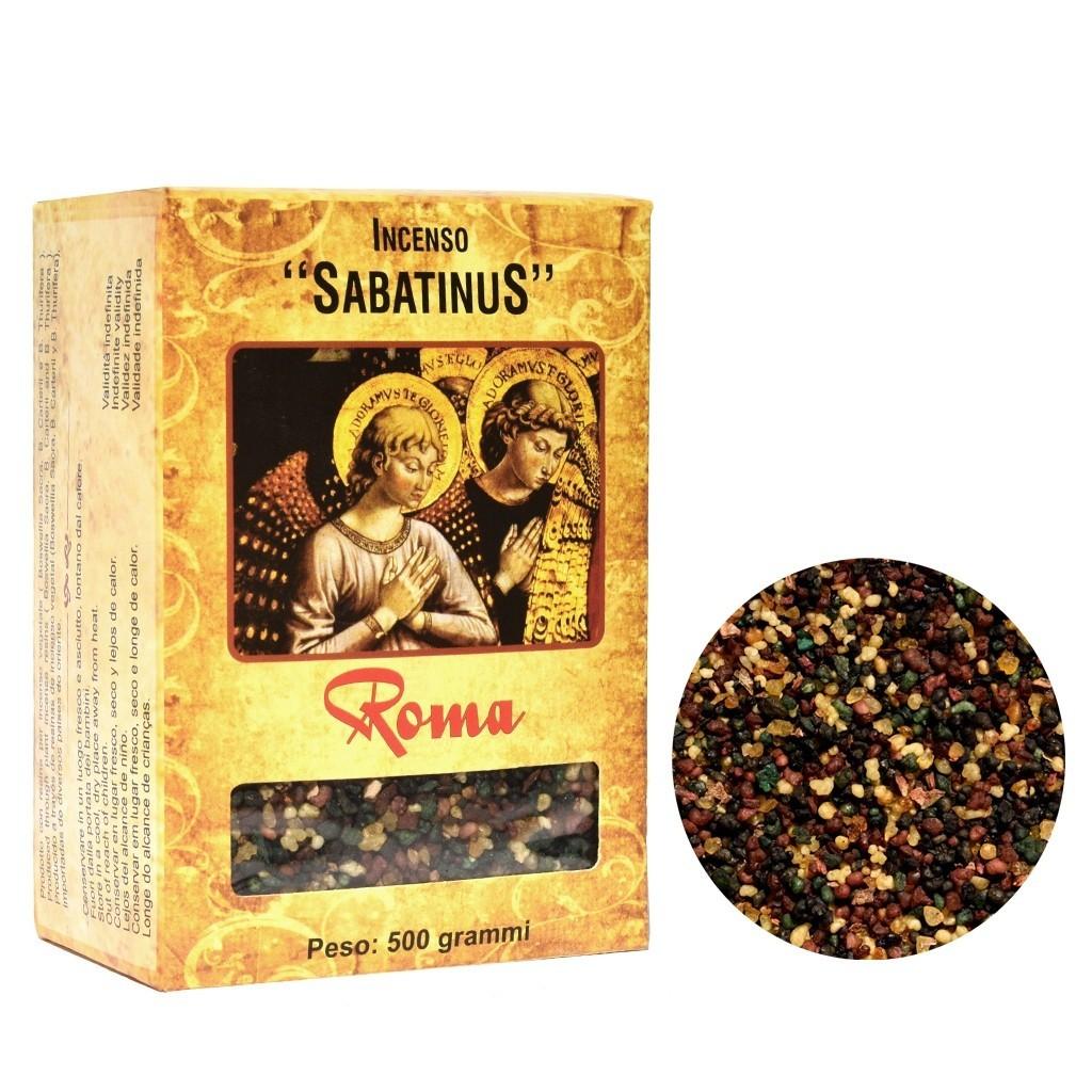 Incenso Sabatinus Roma 1 Unidade com 500 Gramas